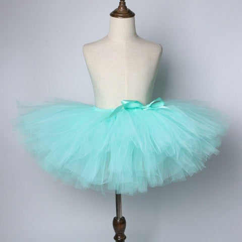 Mint Green Baby Girls Tutu Skirt - Ballet Dance Tutu - Tutu-Dresses.com