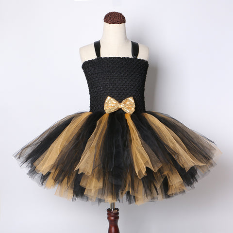 Queen Bee Girl Dress Doll Costume Queen Bee Birthday Costume For Toddlers