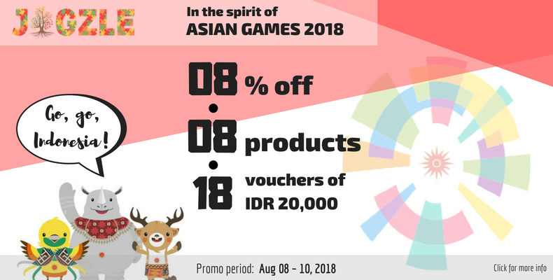 EVENT: In the Spirit of the Asian Games 2018!