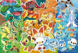 BEV-100-018 Beverly • Pokemon • Which Type Will You Choose First? 100 Pieces Jigsaw Puzzle