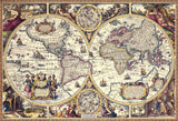 BEV-31-457 Beverly • Antique World Map 1000 Pieces Jigsaw Puzzle