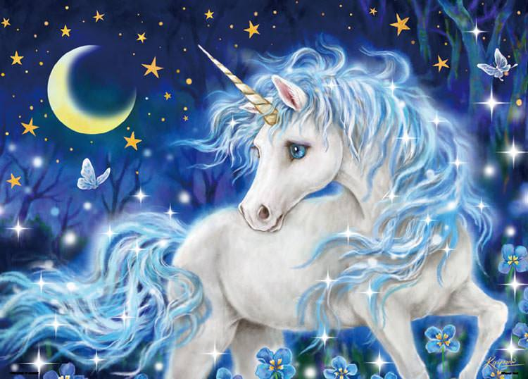 BEV-66-144 Beverly • Kayomi Harai • Blue Unicorn 600 Pieces Jigsaw Puzzle