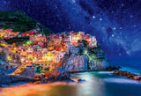 BEV-83-092 Beverly • Scenery • Starry Sky Cinque Terre 300 Pieces Jigsaw Puzzle