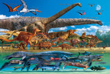 BEV-L74-167 Beverly • Creature • Dinosaur Size vs. The World 150 Pieces Jigsaw Puzzle
