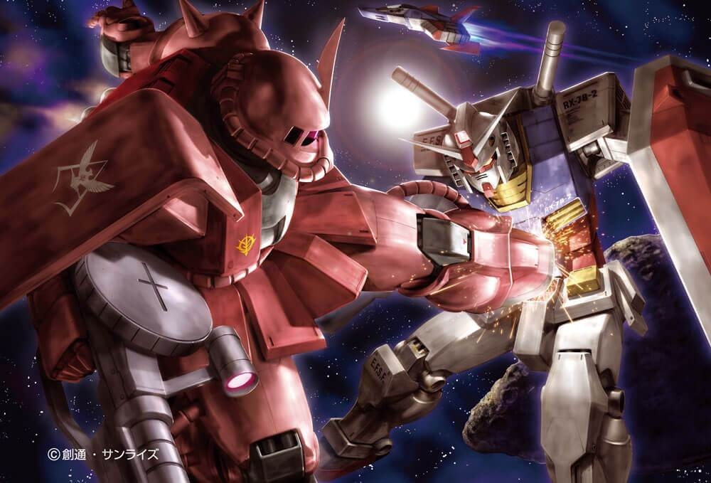 BEV-M108-184 Beverly • Mobile Suit Gundam • Threat of the Red Comet 108 Pieces Jigsaw Puzzle