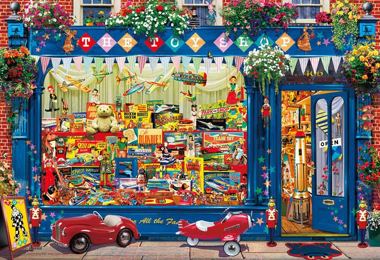 BEV-M81-580 Beverly • Garry Walton • Toy Shop 1000 Pieces Jigsaw Puzzle