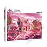 REN-R-1008-CANDY Renoir • Laima • Candy Cottage 1008 Pieces Jigsaw Puzzle