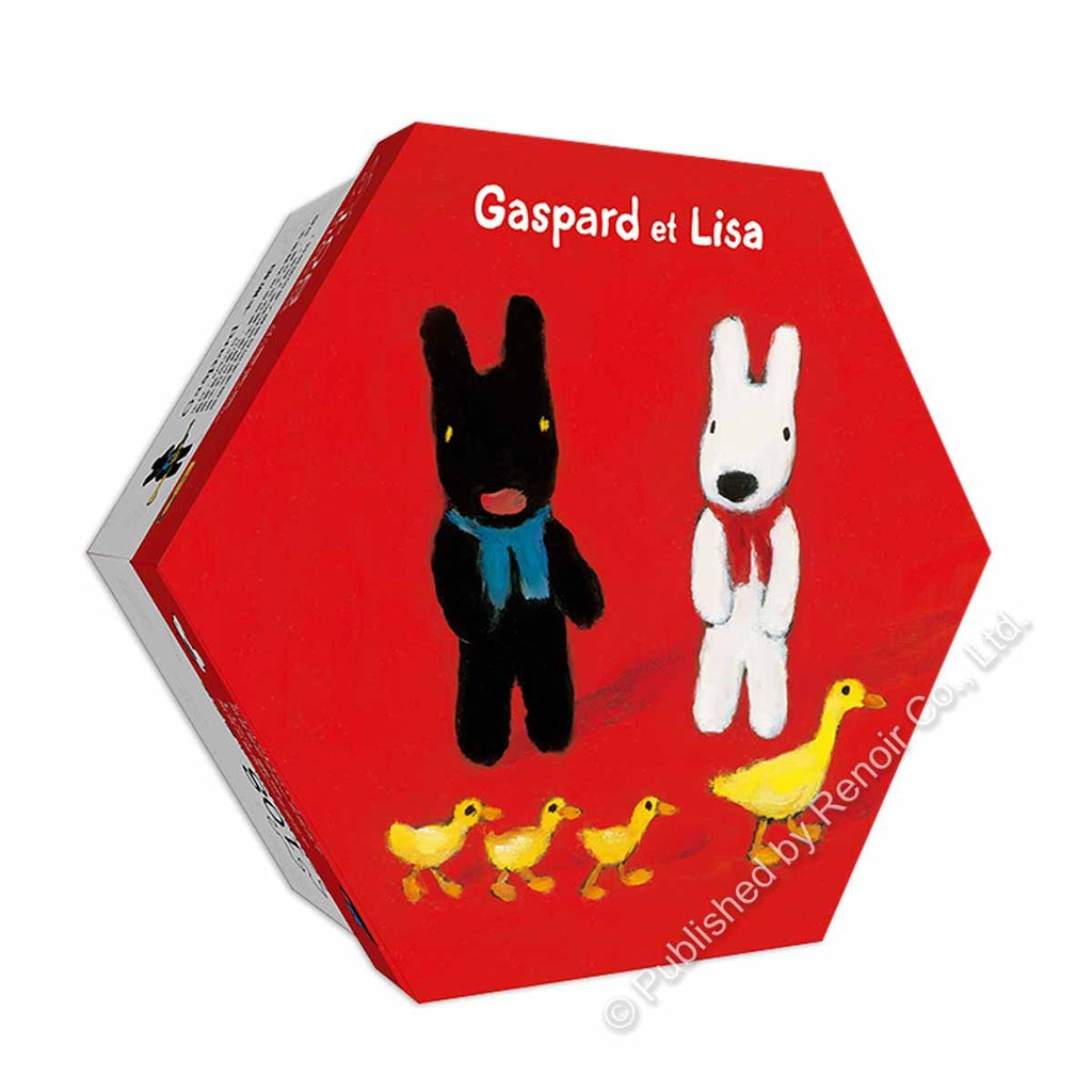 REN-R-108-1020 Renoir • Gaspard et Lisa • Duck Family 108 Pieces Jigsaw Puzzle