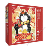 REN-R-108-1709 Renoir • Kedong Liang • Wishing Wealth Comes to You 108 Pieces Jigsaw Puzzle