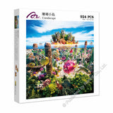 REN-R-924-599 Renoir • Carl Warner • Coralscape 924 Pieces Jigsaw Puzzle