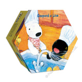 REN-R-S-1070 Renoir • Gaspard et Lisa • I Love to Wash Hands + I Love Making Dessert 96 Pieces Jigsaw Puzzle