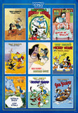 TEN-D-1000-041 Tenyo • Donald Duck • Movie Poster Collection 1000 Pieces Jigsaw Puzzle