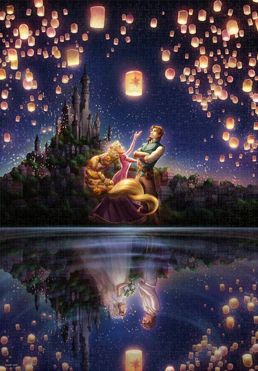 TEN-D-1000-055 Tenyo • Tangled • Reflection of the Future 1000 Pieces Jigsaw Puzzle