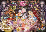 TEN-D-1000-495 Tenyo • Alice in Wonderland • Neverending Dream Tea Party 1000 Pieces Jigsaw Puzzle