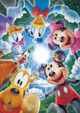 TEN-D-108-734 Tenyo • Mickey & Friends • Let's Connect Our Hearts!! 108 Pieces Jigsaw Puzzle