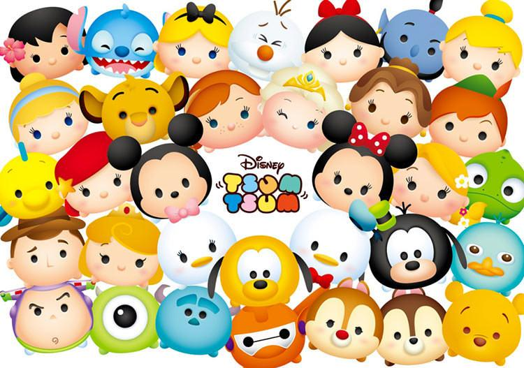 TEN-D-200-900 Tenyo • Tsum Tsum • Pose! 200 Pieces Jigsaw Puzzle