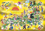 TEN-D-500-447 Tenyo • Mickey & Friends • Fantastic Japan 500 Pieces Jigsaw Puzzle
