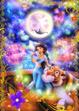 TEN-D-500-454 Tenyo • Jasmine • Riding the Magic of Love 500 Pieces Jigsaw Puzzle