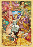 TEN-D-500-657 Tenyo • Disney Princess • Beautiful Blooming Maidens 500 Pieces Jigsaw Puzzle