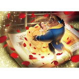 TEN-D-500-665 Tenyo • Beauty and the Beast • Story of True Love 500 Pieces Jigsaw Puzzle