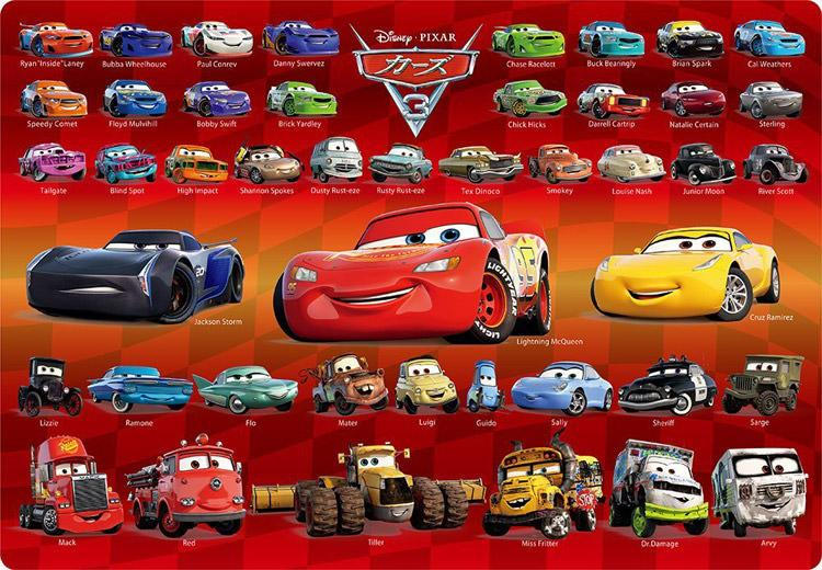 TEN-DC-80-137 Tenyo • Cars 3 Collection 80 Pieces Jigsaw Puzzle