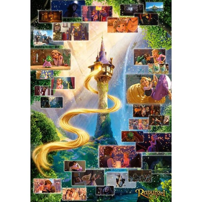 TEN-DG-2000-616 Tenyo • Tangled • Rapunzel Scene Collection 2000 Pieces Jigsaw Puzzle