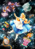TEN-DSG-266-971 Tenyo • Alice in Wonderland • The Dazzling Mysterious Dream 266 Pieces Jigsaw Puzzle