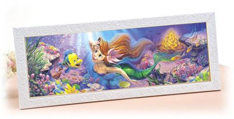 TEN-DSG-456-713 Tenyo • The Little Mermaid • To the World We Yearn For 456 Pieces Jigsaw Puzzle