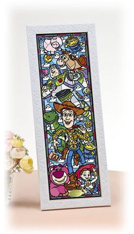 TEN-DSG-456-719 Tenyo • Toy Story Stained Glass 456 Pieces Jigsaw Puzzle
