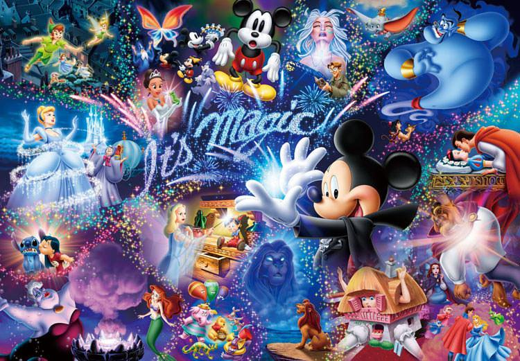 TEN-DW-1000-414 Tenyo • Disney • It's Magic! 1000 Pieces Jigsaw Puzzle