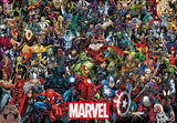 TEN-RP-1000-636 Tenyo • Marvel • Characters Group 1000 Pieces Jigsaw Puzzle