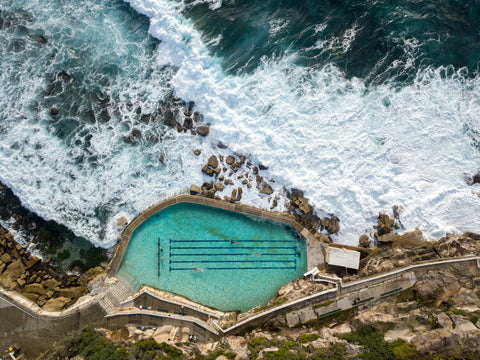 Premium Prints - Bronte Baths in a Frame