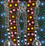 Colleen Wallace Nungarray  - 30 x 30cm - Dreamtime Sisters