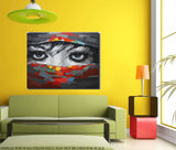 Free Oil Painting Pay only for delivery $29 Gift for our 10th years anniversary - Look Into My Eyes