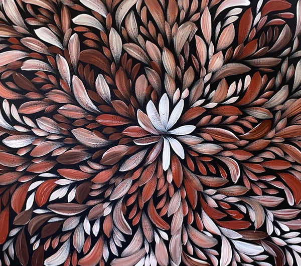 Louise Numina - Bush Medicine Leaves - 59x69cm - North Sydney Shop