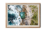 Premium Prints - Mahon Maroubra Pool in a Frame