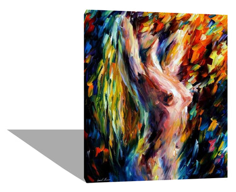 Colorful Nude Lady
