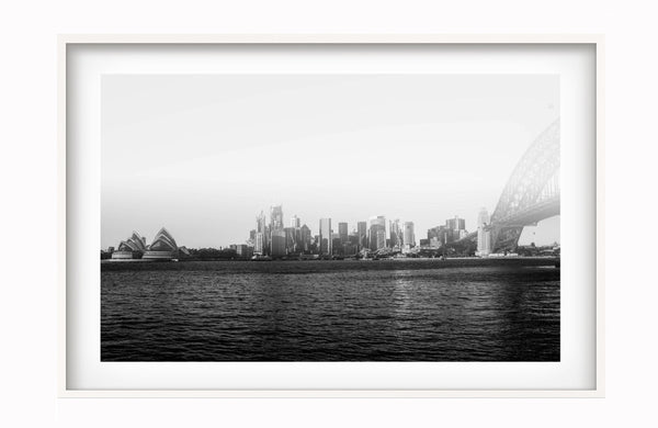 Bertrand Bragard - Sea View at Sydney Harbour Bridge - Photography