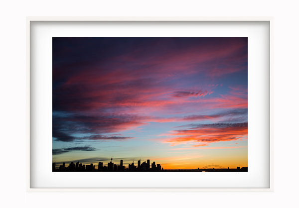 Jude Cohen - Sunset Over The City - Photography