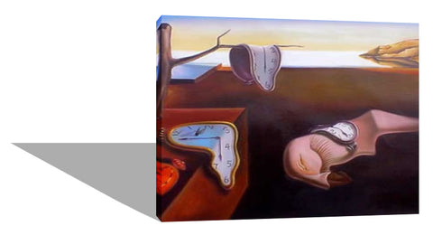 The Persistence of Memory - Recreation of Salvador Dali's painting