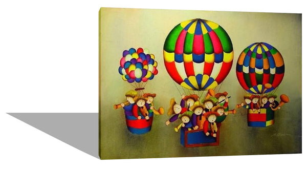 Kids On A Hot Air Balloon