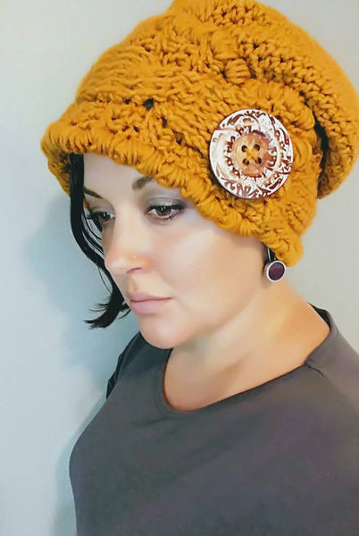 Classic Slouch Hat - Pumpkin Spice