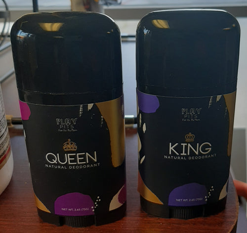 Queen/King natural deodorant(Playpits)