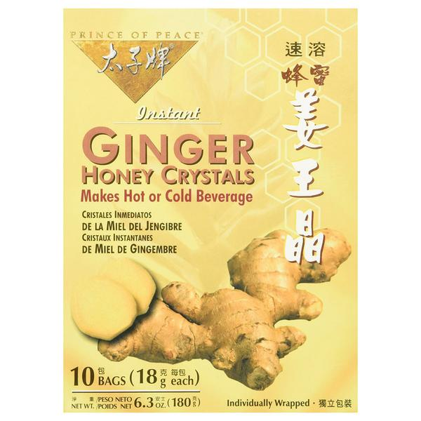 Ginger Honey Crystals Instant Tea 10 packets