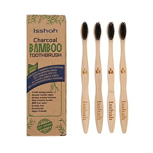 Bamboo toothbrush Single (IN STORE PURCHASE ONLY)