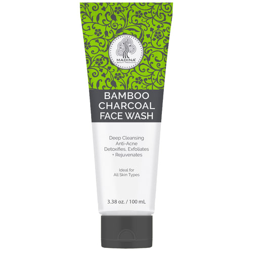 Bamboo Charcoal face wash