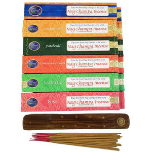Nag Champa Incenses different flavors (IN STORE PURCHASE ONLY)