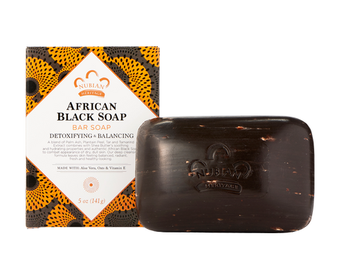 African Black Soap by Nubian Hertiage