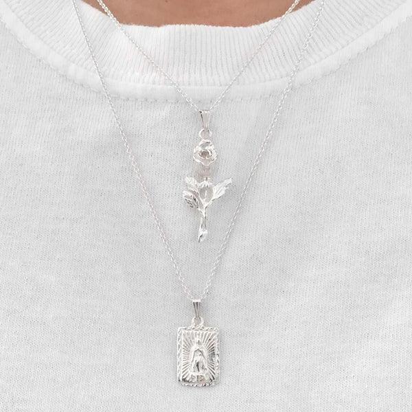 Virgin Mary Silver