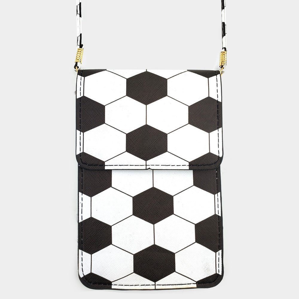8.15 SOCCER TOUCH VIEW CELL PHONE CROSS BAG